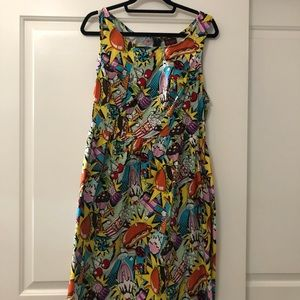ModCloth Good Enough to Eat a line dress in 1X